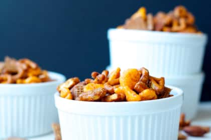 Sweet and Spicy Snack Mix