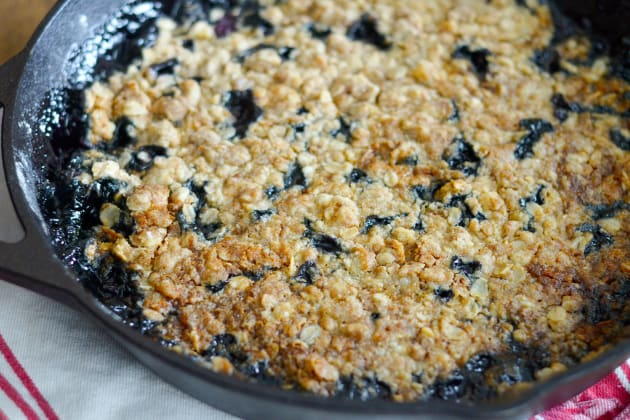 Gluten Free Blueberry Crisp Photo