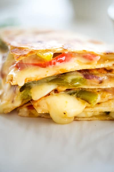 Veggie Fajita Quesadillas Picture