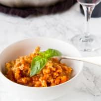 Chicken Parmesan Pasta Skillet Recipe
