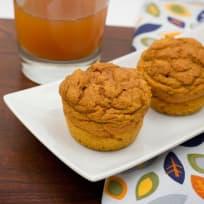 Whole Wheat Pumpkin Muffins Recipe