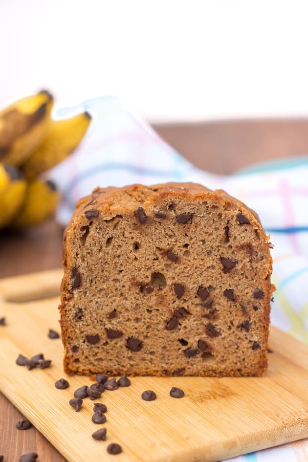 Gluten Free Chocolate Chip Banana Bread Picture