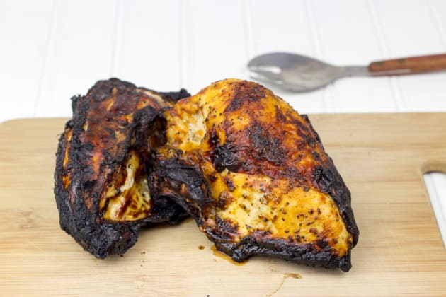 BBQ Split Chicken Breasts Image