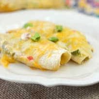 Gluten Free Cheesy Chicken Enchiladas Recipe