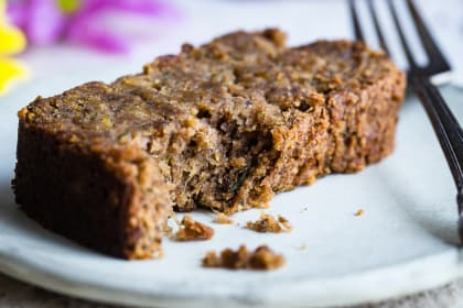 Vegan Zucchini Bread with Five Spice