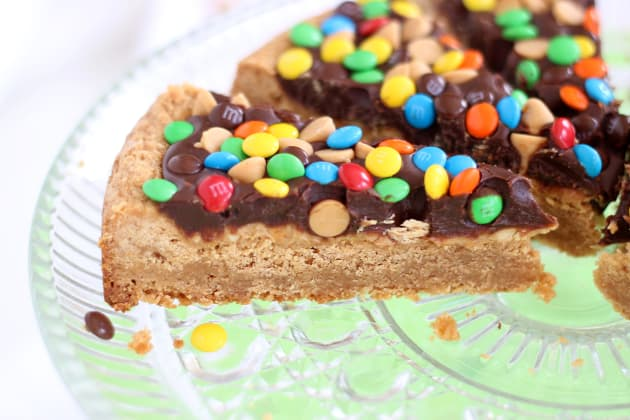 Chocolate Peanut Butter Cookie Pizza Photo