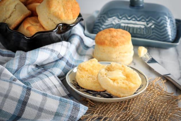 Homemade Cream Biscuits Photo