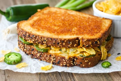 Toaster Oven Jalapeño Popper Grilled Cheese Recipe
