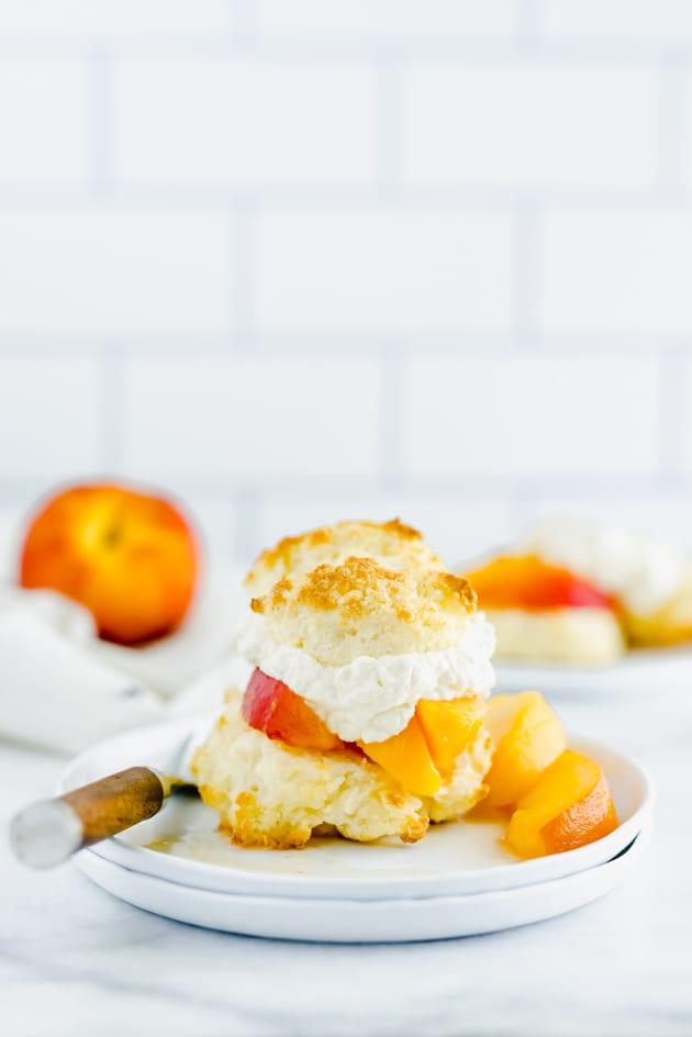 Gluten Free Peach Shortcake Image