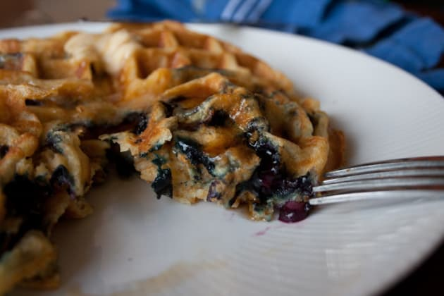 Blueberry Waffle Picture