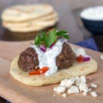 Greek Gyros with Meatballs Recipe