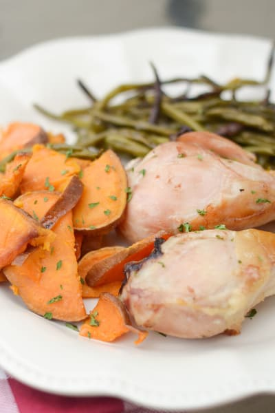 Sheet Pan Rosemary Chicken Picture