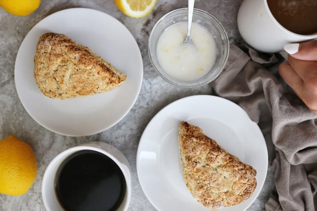 Gluten Free Lemon Poppyseed Scones Photo