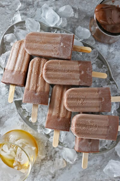 Boozy Nutella Popsicles Pic