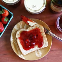Strawberry Balsamic Jam Recipe