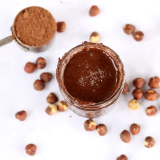 Homemade nutella photo