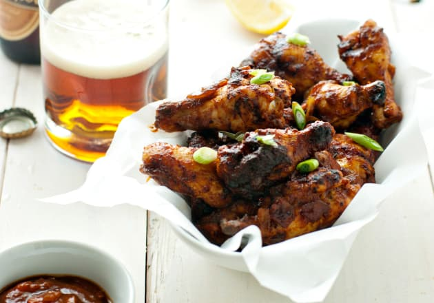 New Orleans Style Barbecue Chicken Wings
