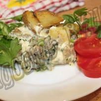 Запеченная рыба с картофелем в духовке