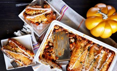 Leftover Thanksgiving Enchiladas Image