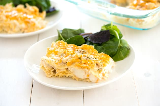 White Chicken Lasagna Photo