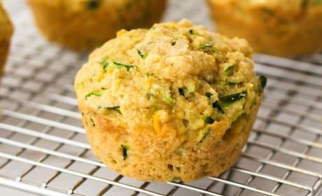 Cornbread Zucchini Muffins Recipe