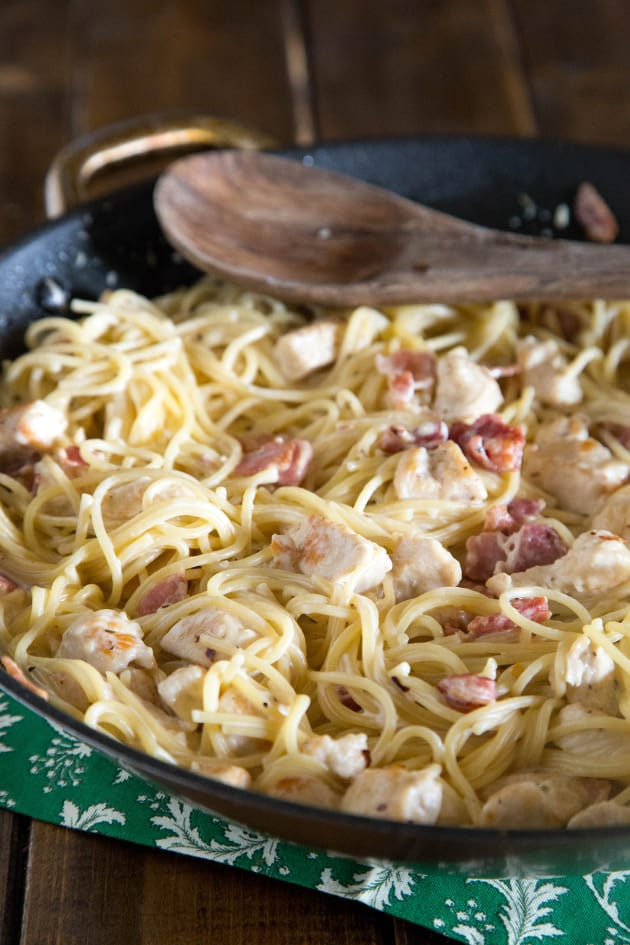 Creamy Chicken Pasta Picture