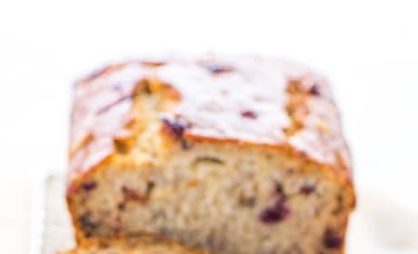 Gluten Free Cranberry Banana Bread Image