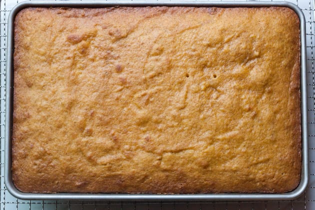 Pumpkin Sheet Cake Pic