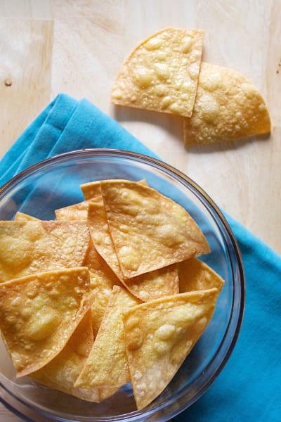 Homemade Tortilla Chips Image