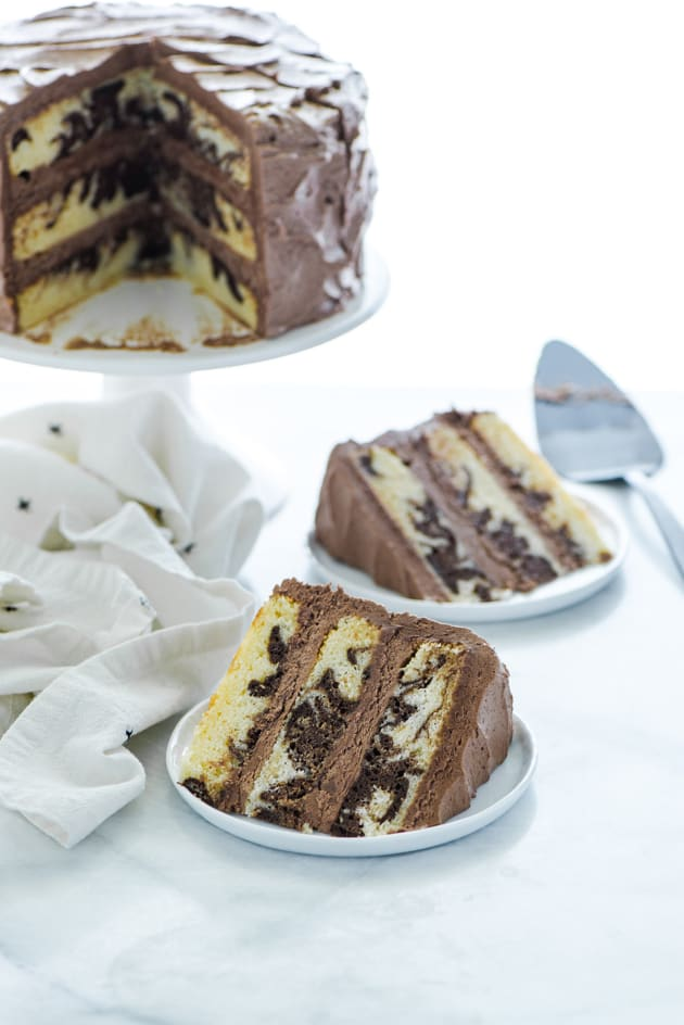Gluten Free Marble Cake Image