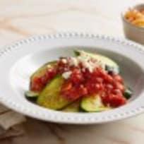 Zucchini Noodles with Tomato Sauce - #GreatAmericanCookIn