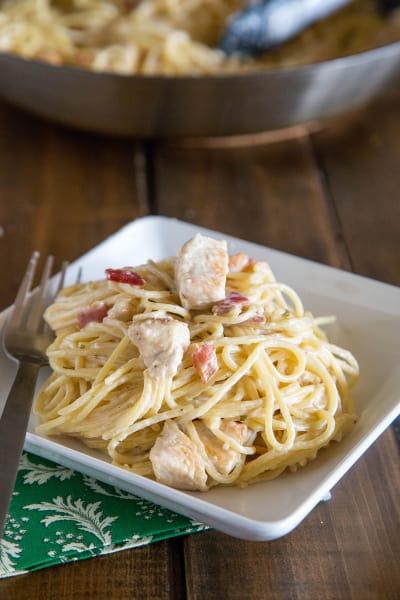 Creamy Chicken Pasta Pic