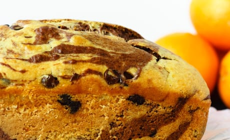 Marbled Chocolate Orange Bread Recipe
