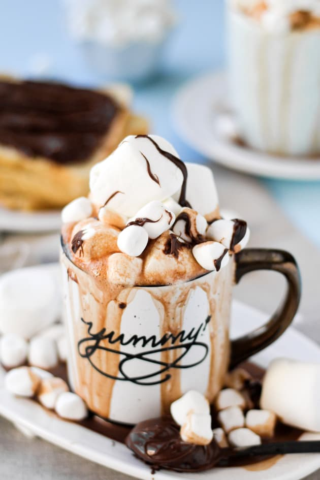 Spiked Nutella Hot Cocoa Pic