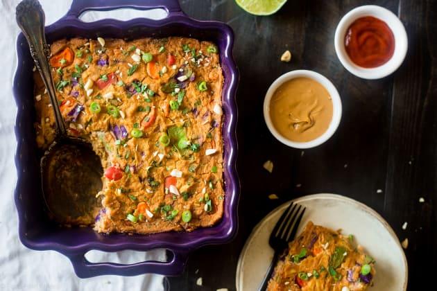 Thai Chicken Cauliflower Casserole Photo