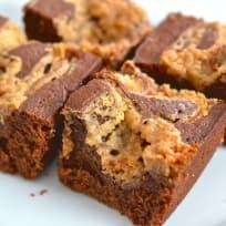 Peanut Butter Swirl Brownies Recipe