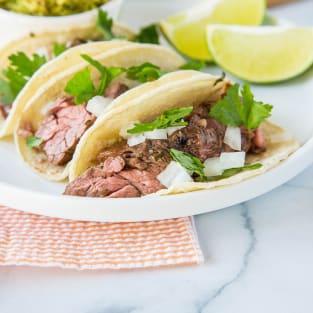 Flank steak tacos photo