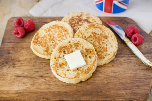 English Crumpets Photo