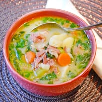 Ham Potato Soup Recipe