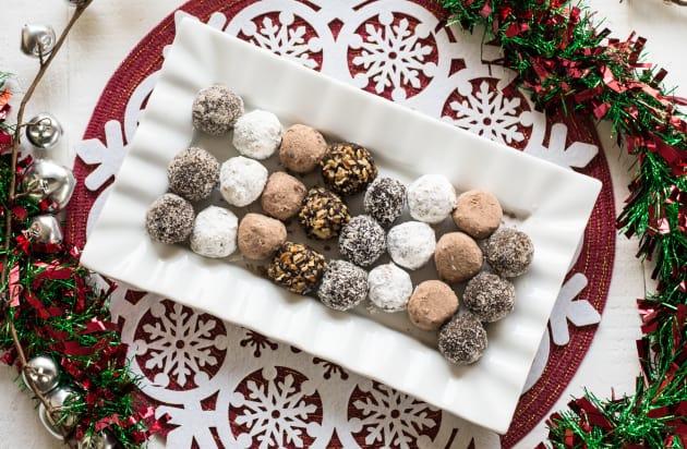 Chocolate Rum Balls Photo