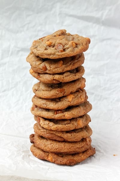 Brown Butter Cinnamon Butterscotch Cookies Pic
