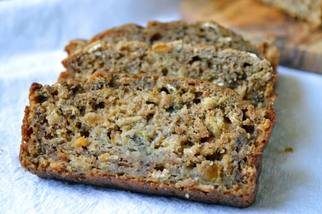 Healthy Peach Banana Bread Photo