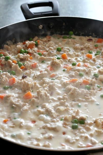 Pasta with Creamy Turkey Bolognese Picture