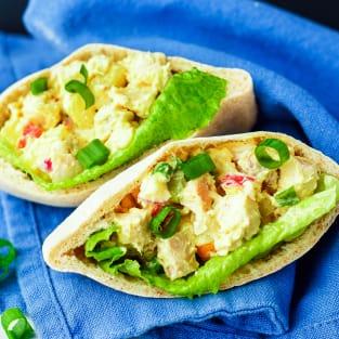 Curried chicken salad photo