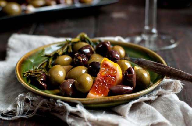 Marinated Olives Photo