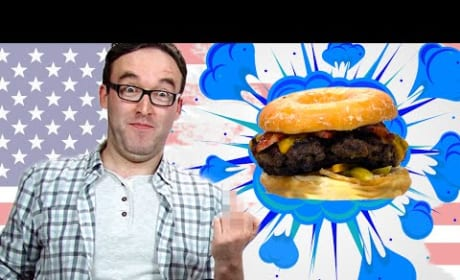 Irish People Eat American Burgers, Try Not to Vomit