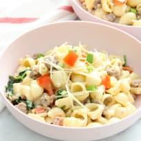 Creamy Sausage and Tomato Pasta Recipe
