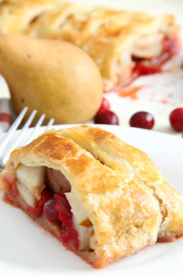 Cranberry Pear Strudel Pic