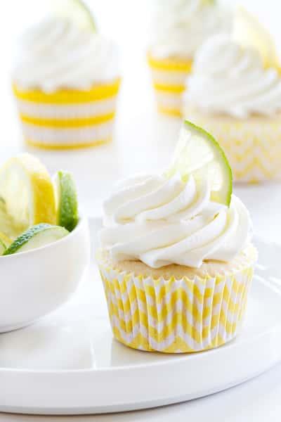 Lemon Lime Cupcakes Pic