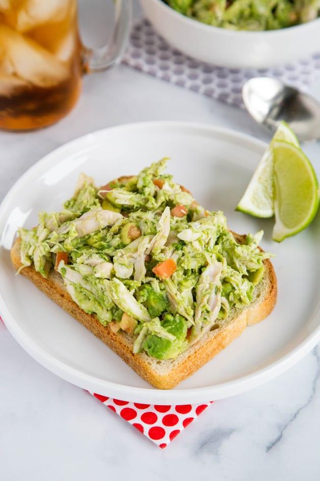 Avocado Chicken Salad Pic